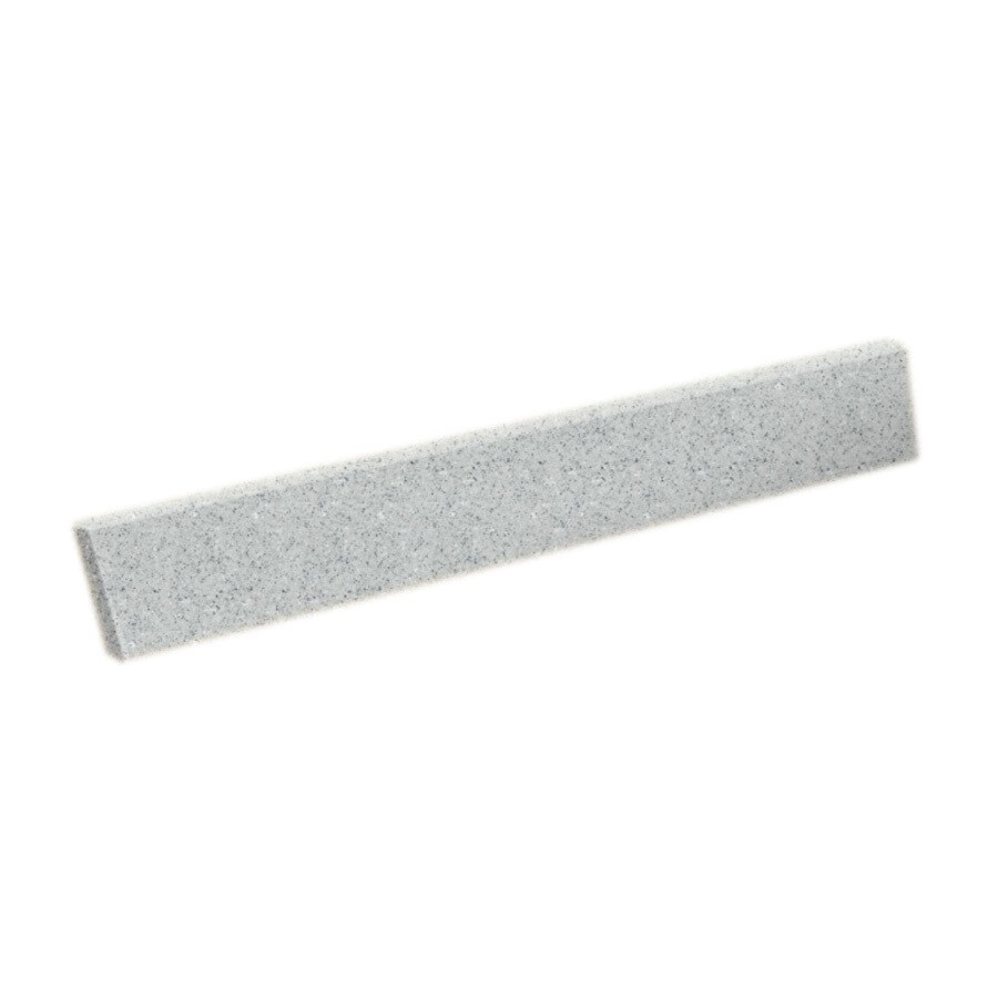Swanstone 318-in L Tahiti Gray Bathroom Side Splash