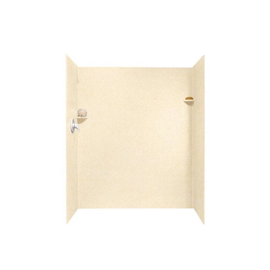 Swanstone Tahiti Terra Shower Wall Surround Side And Back Wall Kit (Common: 32-in x 60-in; Actual: 72-in x 32-in x 60-in)