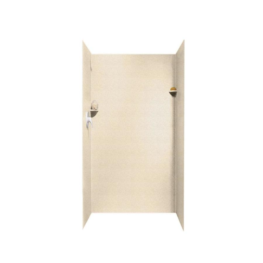 Swanstone Tahiti Sand Shower Wall Surround Side And Back Wall Kit (Common: 36-in x 36-in; Actual: 72-in x 36-in x 36-in)