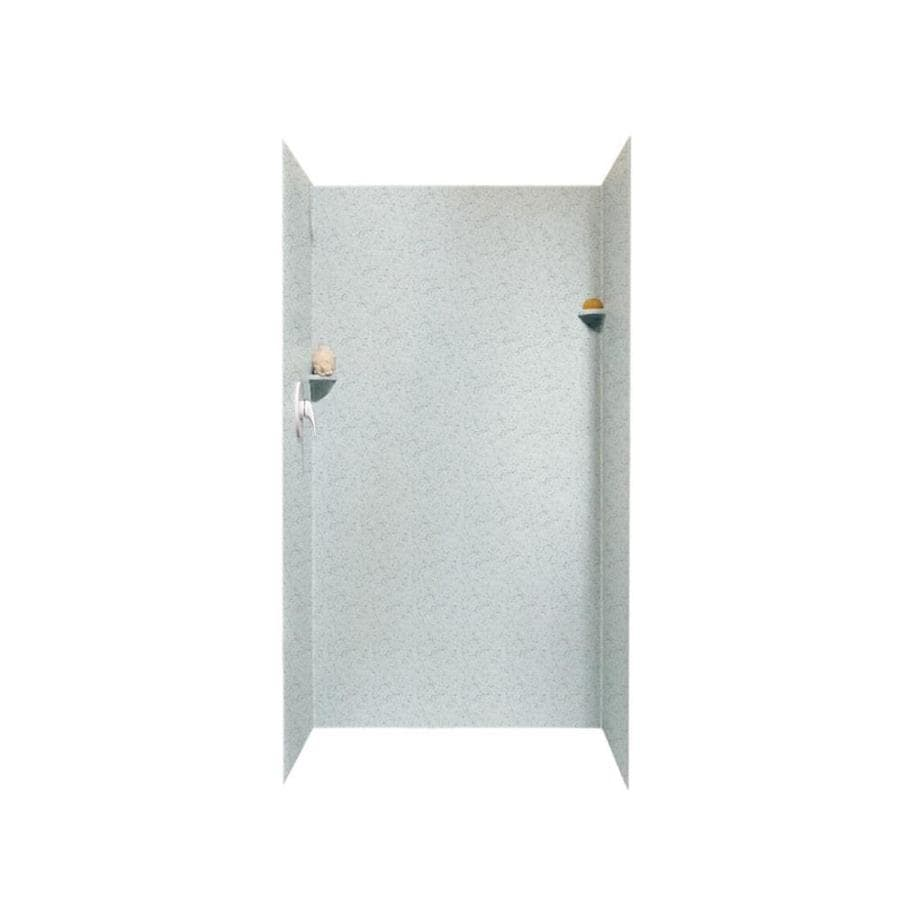 Swanstone Tahiti Gray Shower Wall Surround Side and Back Panels (Common: 36-in; Actual: 72-in x 36-in)