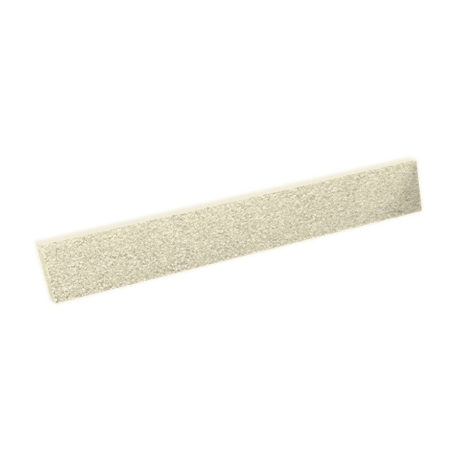 Swanstone 3-in H x 21.625-in L Bone Bathroom Side Splash