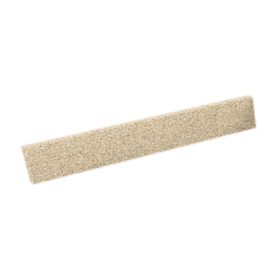 Swanstone 3-in H x 21.625-in L Bermuda Sand Bathroom Side Splash