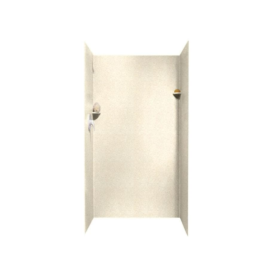 Swanstone Pebble Shower Wall Surround Side and Back Panels (Common: 36-in; Actual: 72-in x 36-in)