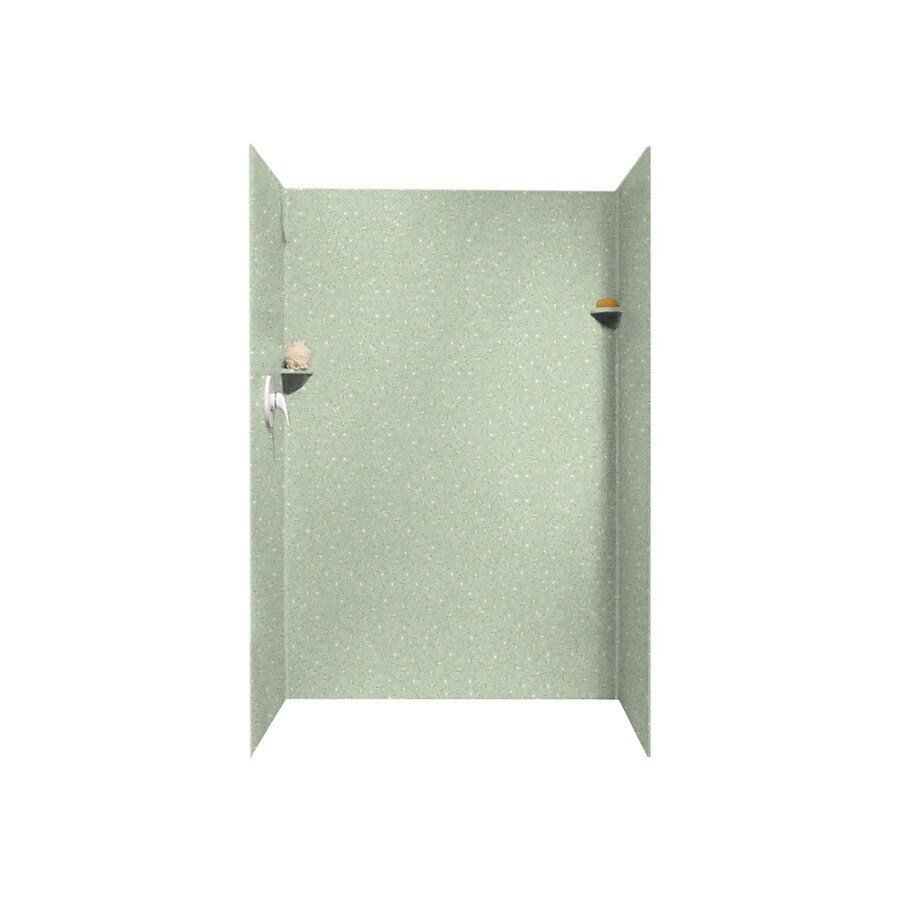 Shop Swanstone Seafoam Shower Wall Surround Side And Back