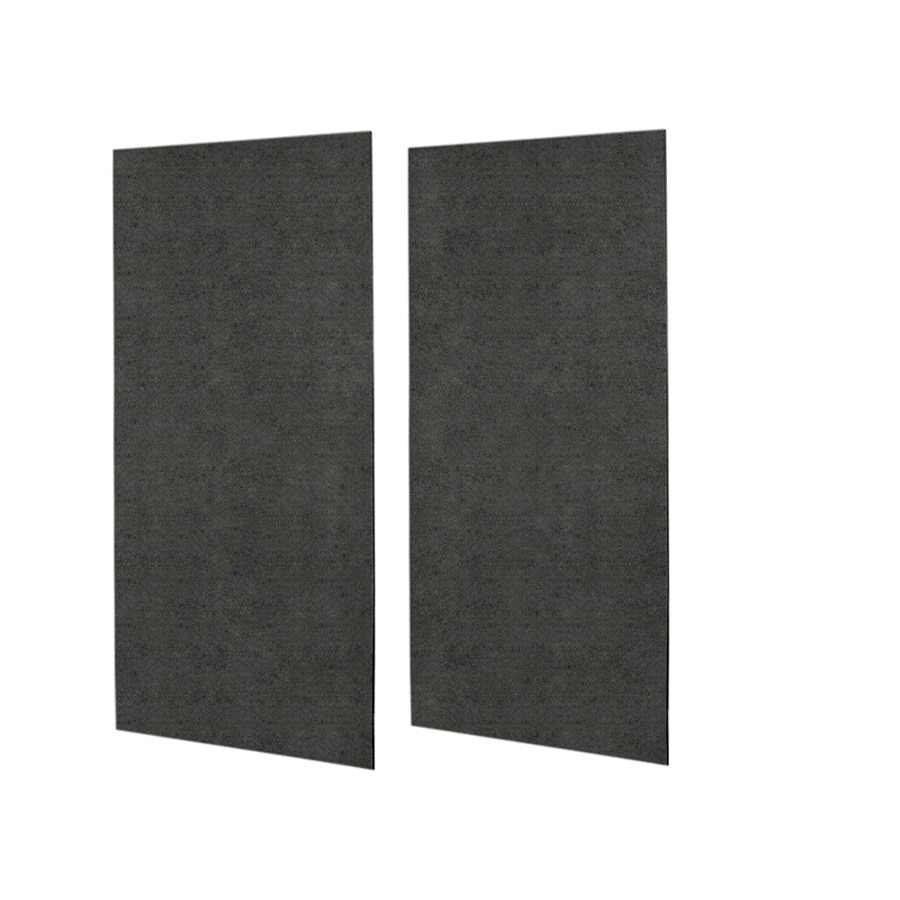 Swanstone Indian Grass Shower Wall Surround Side Wall Panel Kit (Common: 0.25-in x 48-in; Actual: 96-in x 0.25-in x 48-in)