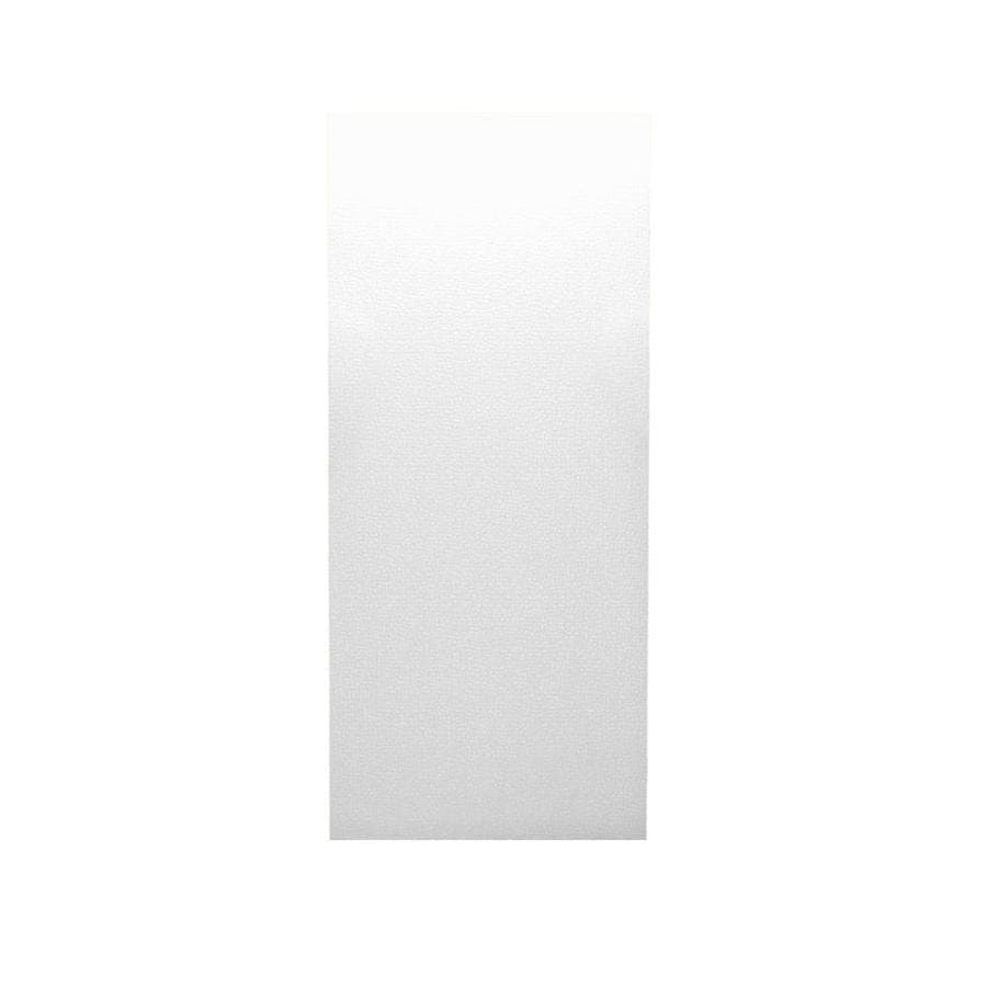 Swanstone White Shower Wall Surround Back Wall Panel (Common: 0.25-in x 36-in; Actual: 96-in x 0.2500-in x 36-in)