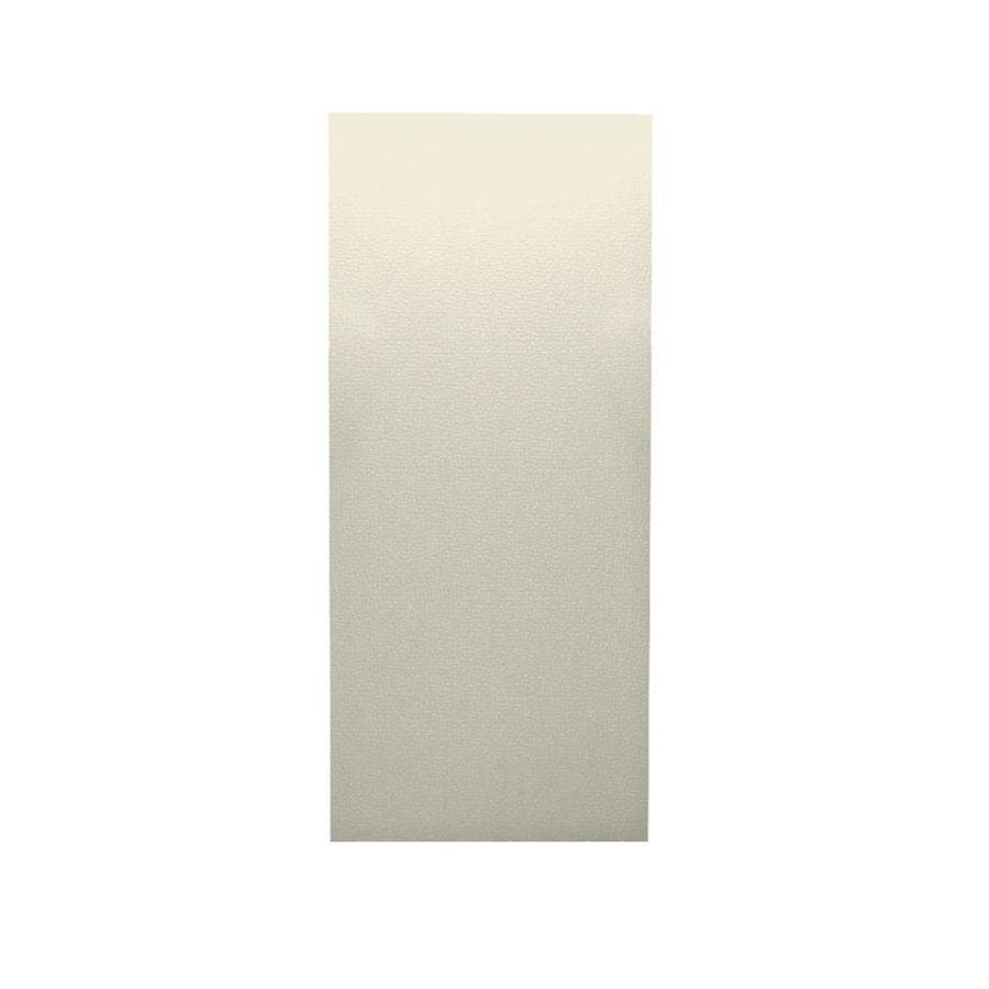 Swanstone Bone Shower Wall Surround Back Wall Panel (Common: 0.25-in x 36-in; Actual: 96-in x 0.25-in x 36-in)