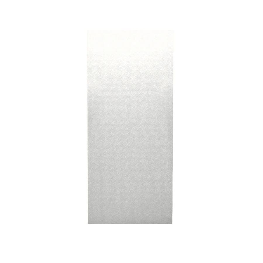 Swanstone Tahiti White Shower Wall Surround Back Wall Panel (Common: 0.25-in x 36-in; Actual: 96-in x 0.2500-in x 36-in)