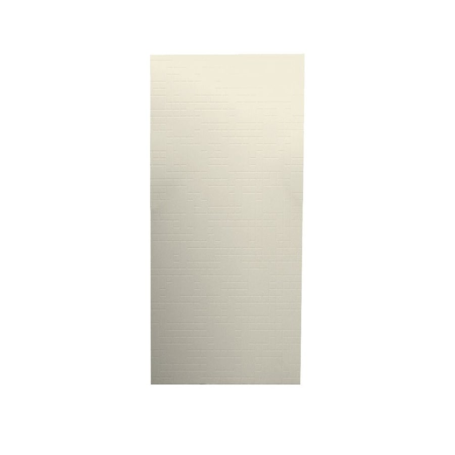 Swanstone Bone Shower Wall Surround Back Panel (Common: 0.25-in; Actual: 96-in x 0.25-in)