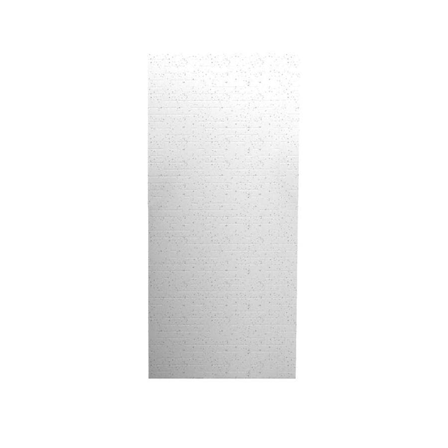 Swanstone Arctic Granite Shower Wall Surround Back Wall Panel (Common: 0.25-in x 36-in; Actual: 96-in x 0.25-in x 36-in)