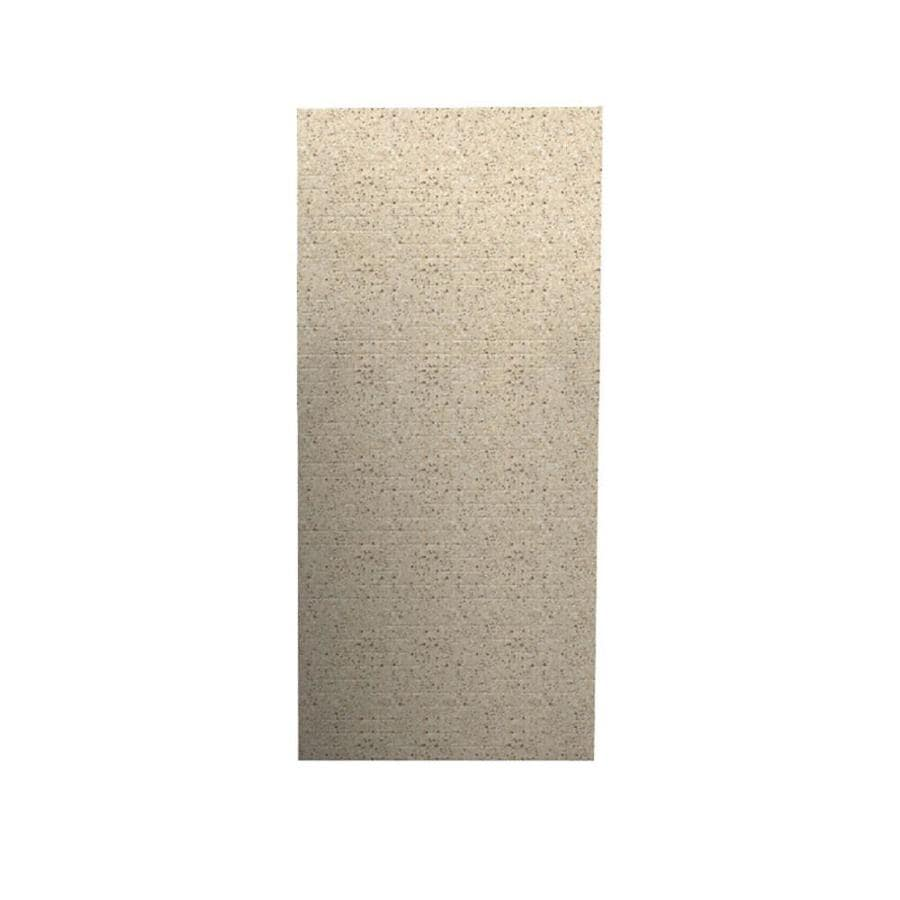 Swanstone Bermuda Sand Shower Wall Surround Back Wall Panel (Common: 0.25-in x 36-in; Actual: 96-in x 0.2500-in x 36-in)