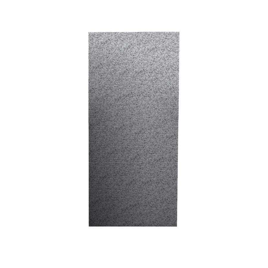 Swanstone Gray Granite Shower Wall Surround Back Wall Panel (Common: 0.25-in x 36-in; Actual: 96-in x 0.25-in x 36-in)