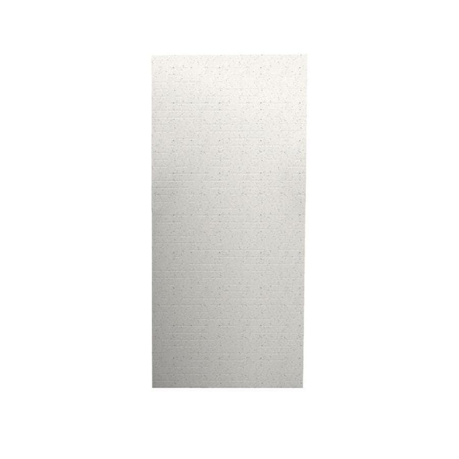 Swanstone Tahiti Matrix Shower Wall Surround Back Wall Panel (Common: 0.25-in x 36-in; Actual: 96-in x 0.25-in x 36-in)