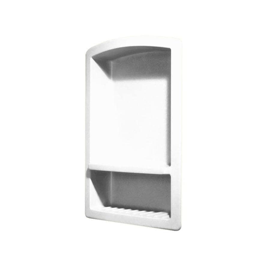 Swanstone White Composite Soap Dish