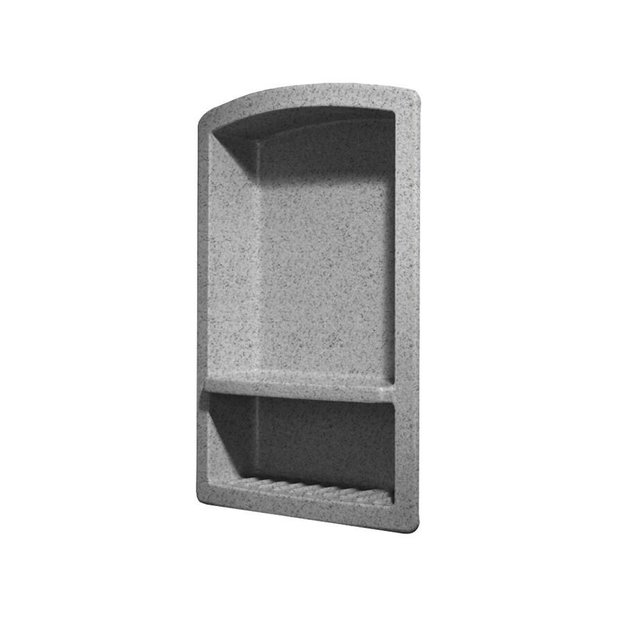 Swanstone Gray Granite Composite Soap Dish