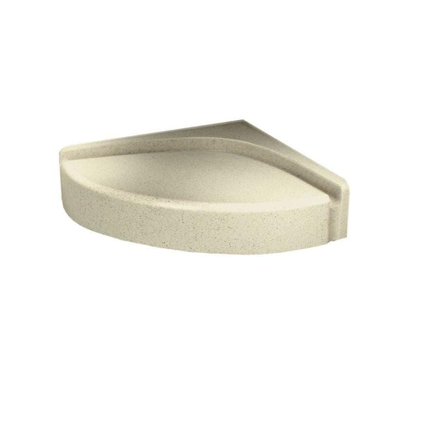 Swanstone Bone Composite Wall Mount Shower Seat