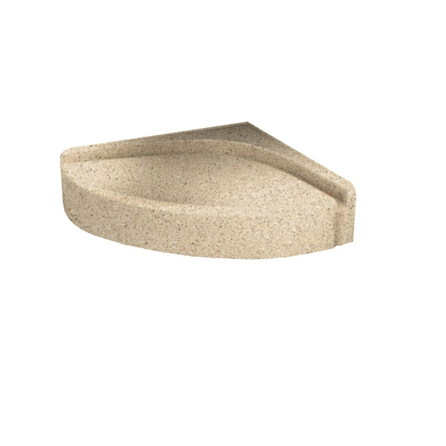 Swanstone Bermuda Sand Composite Wall Mount Shower Seat