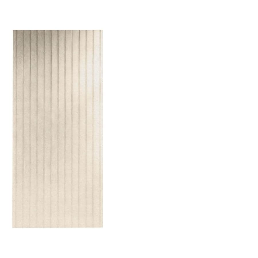 Swanstone Tahiti Sand Shower Wall Surround Back Panel (Common: 0.25-in; Actual: 96-in x 0.25-in)