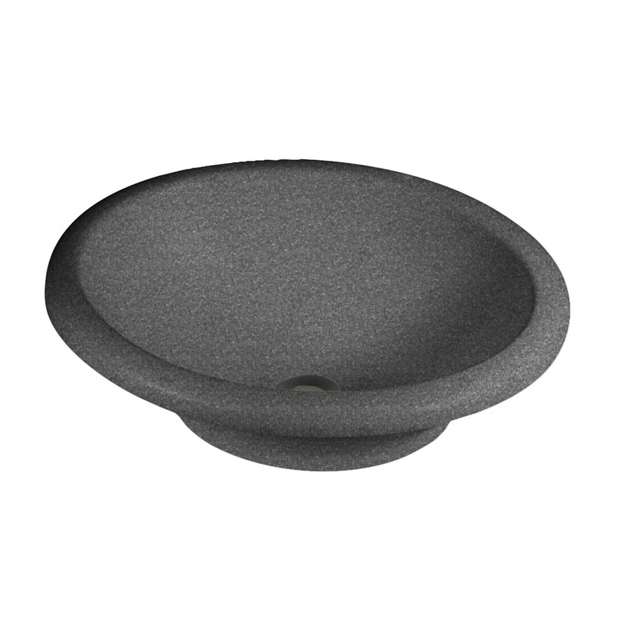 Swanstone Hilo Night Sky Solid Surface Vessel Oval Bathroom Sink