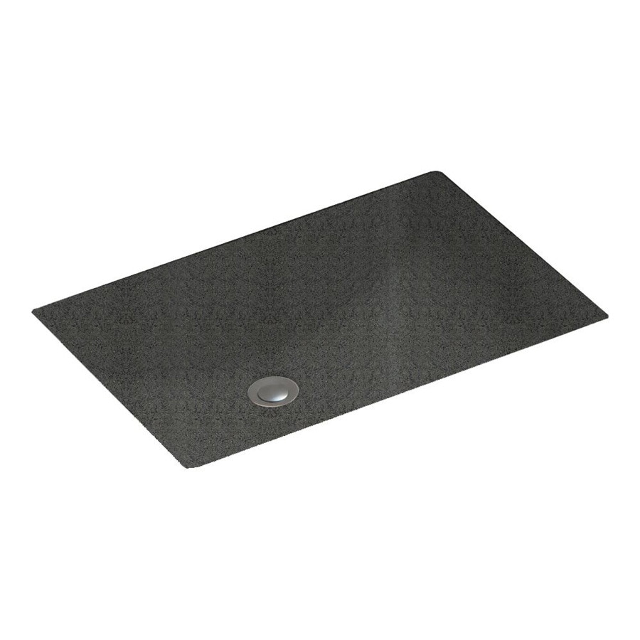 Shop swanstone indian grass solid surface undermount for Swanstone undermount sinks