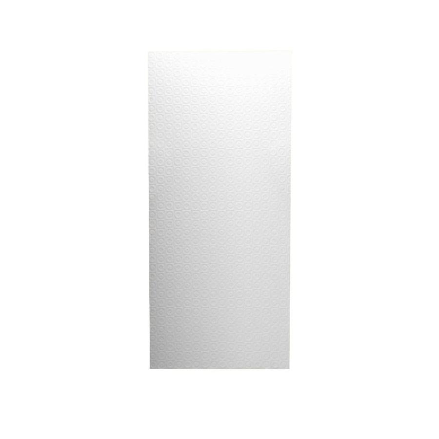 Swanstone White Shower Wall Surround Back Panel (Common: 0.25-in; Actual: 96-in x 0.25-in)