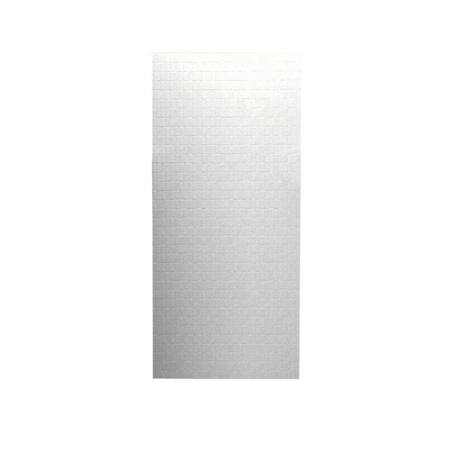 Swanstone Tahiti White Shower Wall Surround Back Wall Panel (Common: 0.25-in x 36-in; Actual: 96-in x 0.25-in x 36-in)