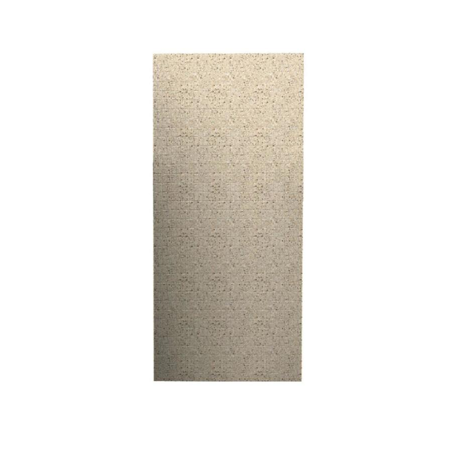 Swanstone Bermuda Sand Shower Wall Surround Back Wall Panel (Common: 0.25-in x 36-in; Actual: 96-in x 0.25-in x 36-in)