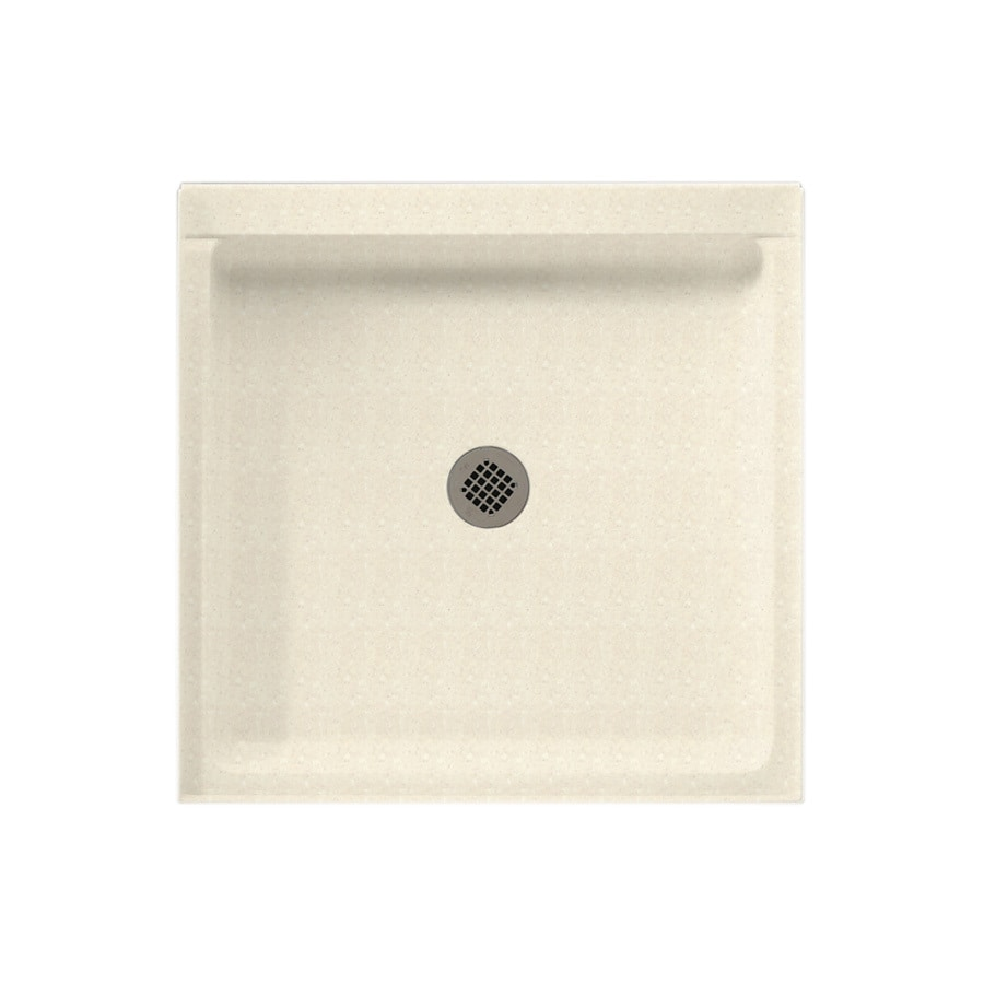 Swanstone Pebble Solid Surface Shower Base (Common: 32-in W x 32-in L; Actual: 32-in W x 32-in L)
