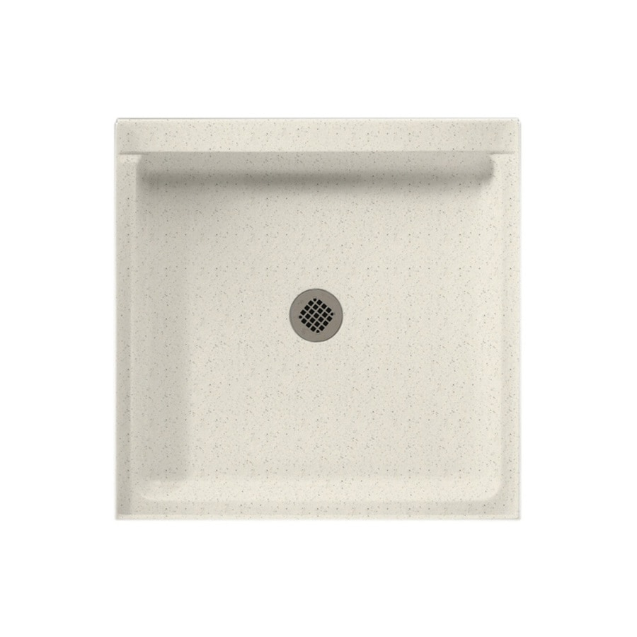 Swanstone Tahiti Matrix Solid Surface Shower Base (Common: 32-in W x 32-in L; Actual: 32-in W x 32-in L)