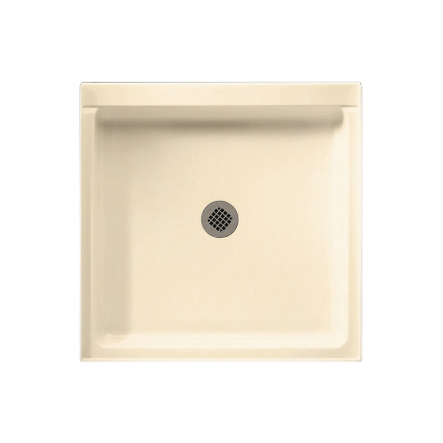 Swanstone Tahiti Terra Solid Surface Shower Base (Common: 32-in W x 32-in L; Actual: 32-in W x 32-in L)