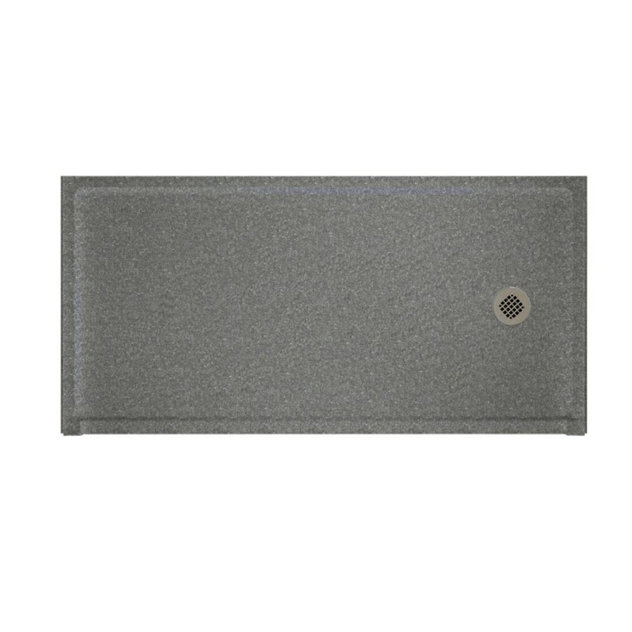Swanstone Night Sky Solid Surface Shower Base (Common: 30-in W x 60-in L; Actual: 30-in W x 60-in L)