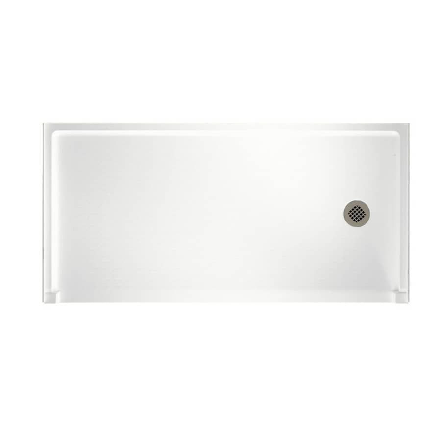 Shop Swanstone White Solid Surface Shower Base Common 30