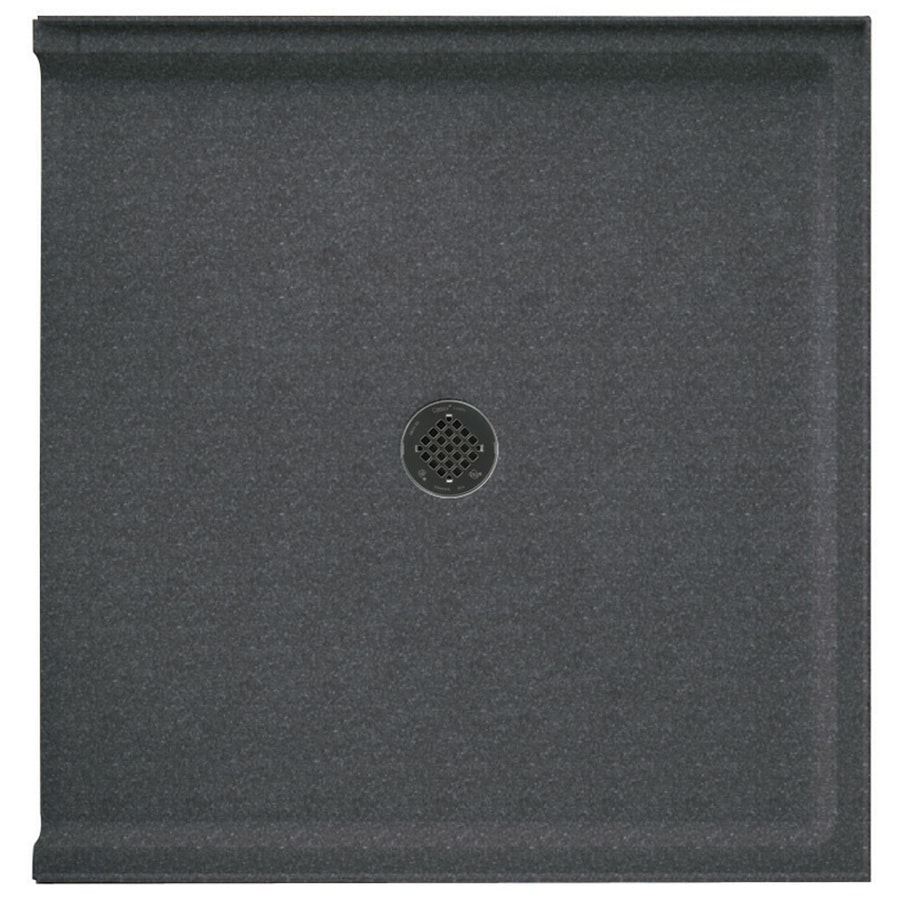 Swanstone Night Sky Solid Surface Shower Base (Common: 37-in W x 38-in L; Actual: 37-in W x 38-in L)