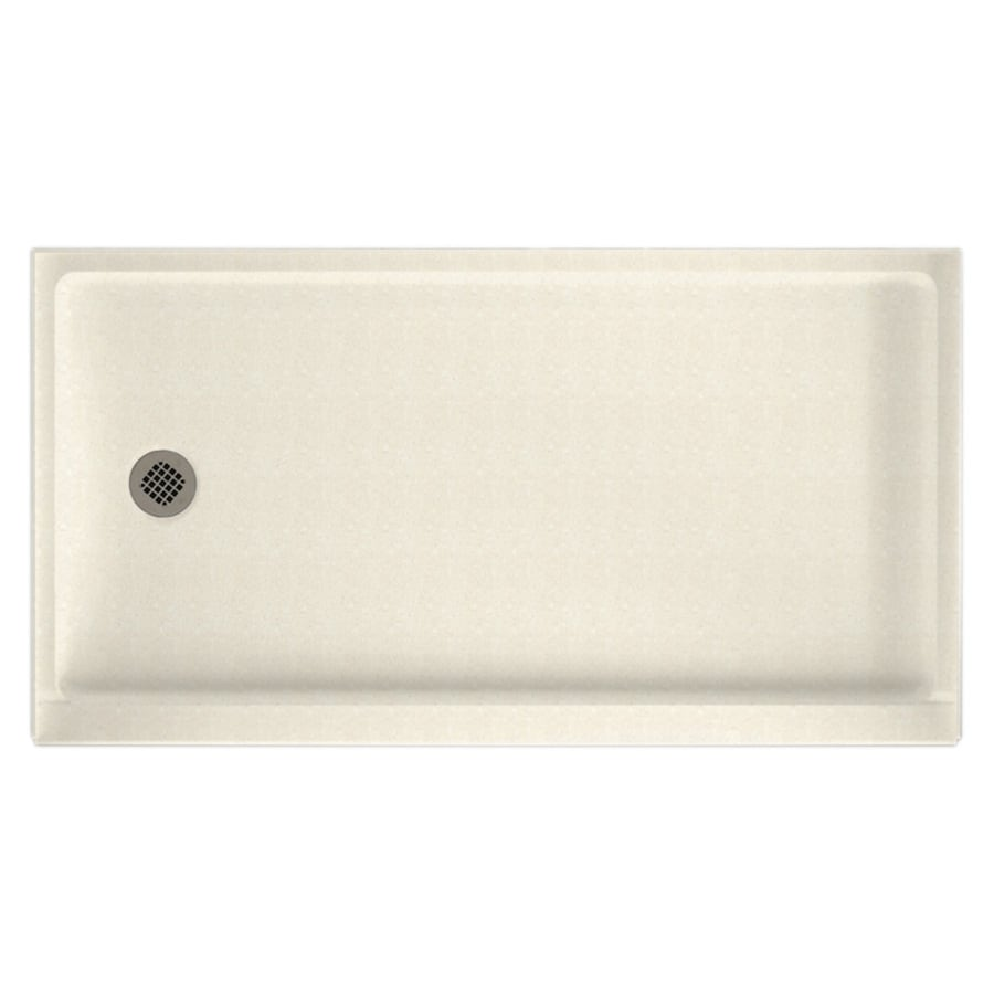 Swan Pebble Solid Surface Shower Base 32 In W X 60 In L