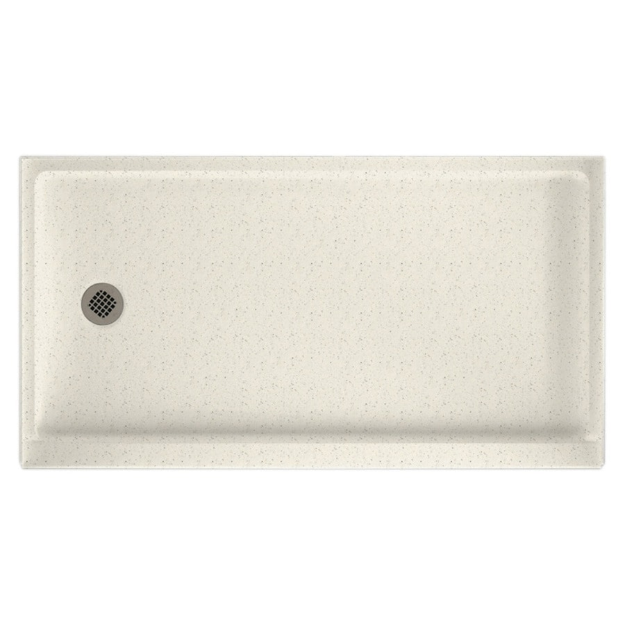 Swanstone Retrofit Tahiti Matrix Solid Surface Shower Base (Common: 32-in W x 60-in L; Actual: 32-in W x 60-in L)