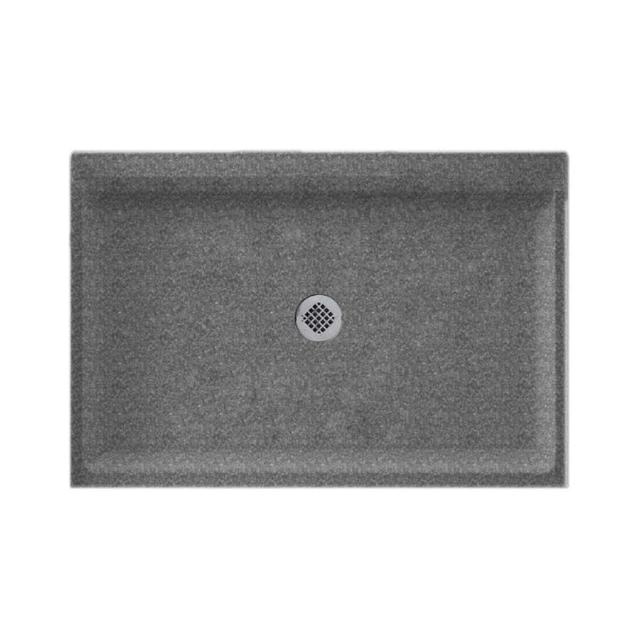 Swanstone Night Sky Solid Surface Shower Base (Common: 32-in W x 48-in L; Actual: 32-in W x 48-in L)