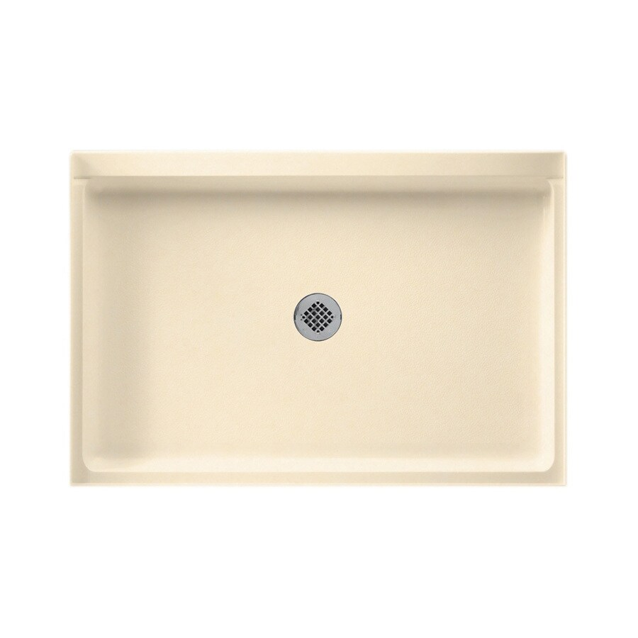 Swanstone Tahiti Terra Solid Surface Shower Base (Common: 32-in W x 48-in L; Actual: 32-in W x 48-in L)