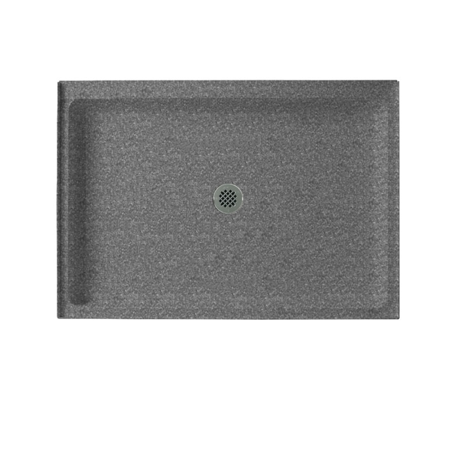 Swanstone Night Sky Solid Surface Shower Base (Common: 34-in W x 42-in L; Actual: 34-in W x 42-in L)