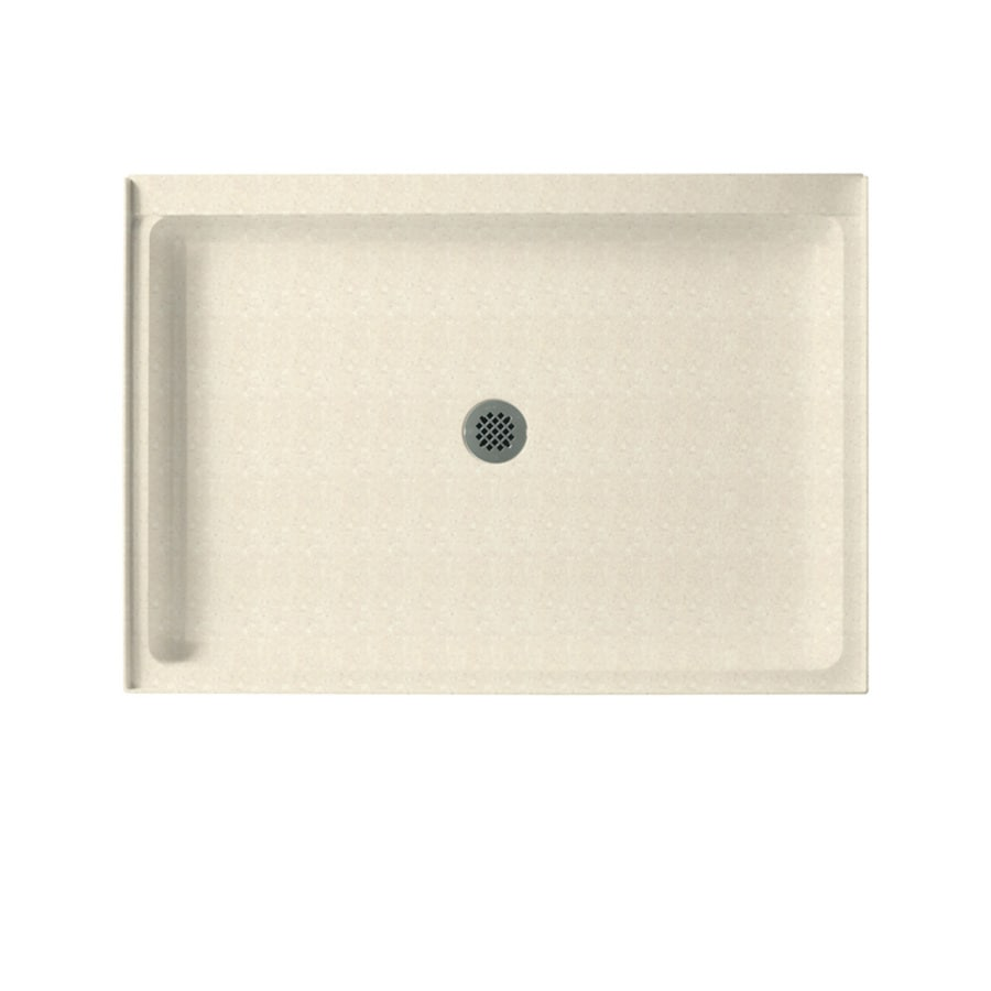Swanstone Pebble Solid Surface Shower Base (Common: 34-in W x 42-in L; Actual: 34-in W x 42-in L)