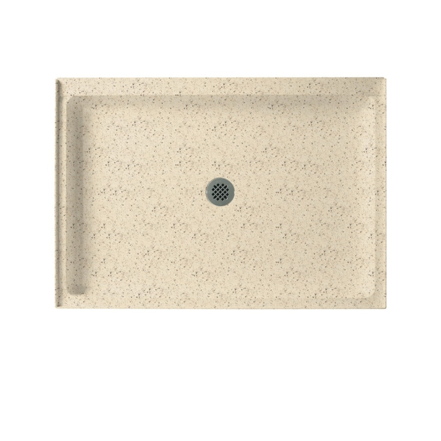 Swanstone Tahiti Desert Solid Surface Shower Base (Common: 34-in W x 42-in L; Actual: 34-in W x 42-in L)