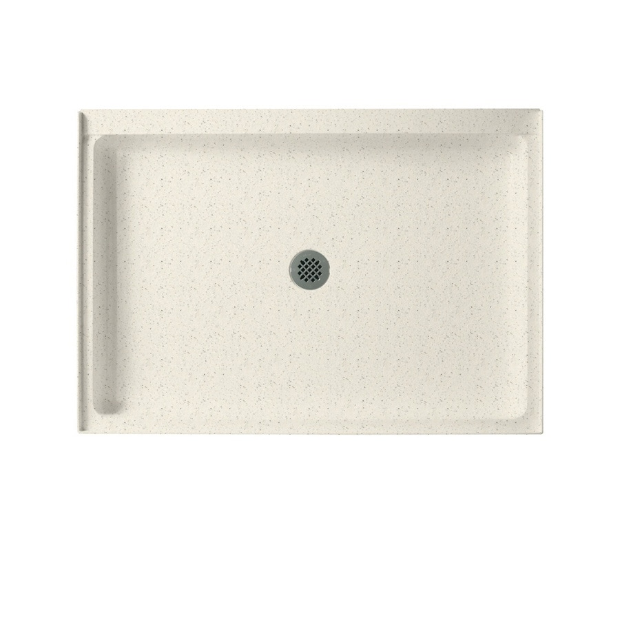 Swanstone Tahiti Matrix Solid Surface Shower Base (Common: 34-in W x 42-in L; Actual: 34-in W x 42-in L)
