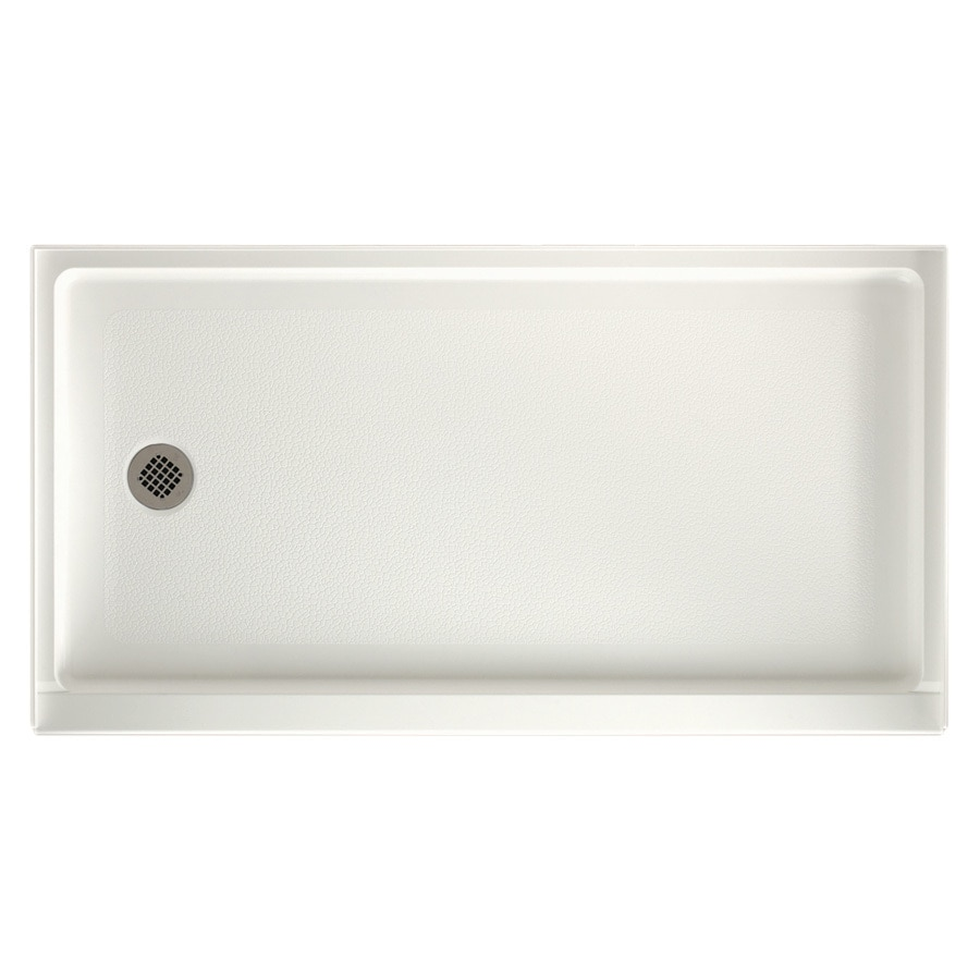 Swanstone Bisque Veritek Shower Base (Common: 32-in W x 60-in L; Actual: 32-in W x 60-in L)