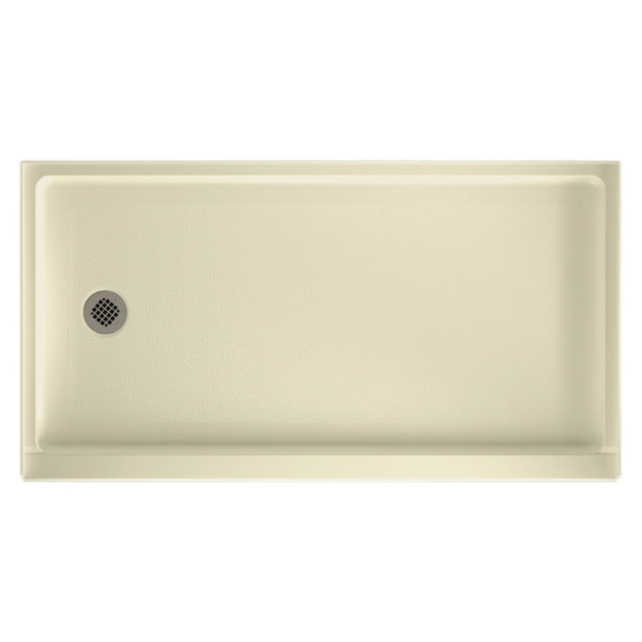 Swanstone Bone Veritek Shower Base (Common: 32-in W x 60-in L; Actual: 32-in W x 60-in L)