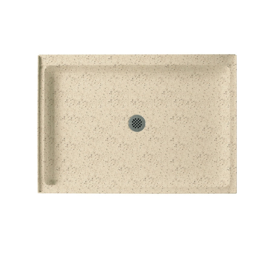 Swanstone Tahiti Desert Solid Surface Shower Base (Common: 34-in W x 48-in L; Actual: 34-in W x 48-in L)
