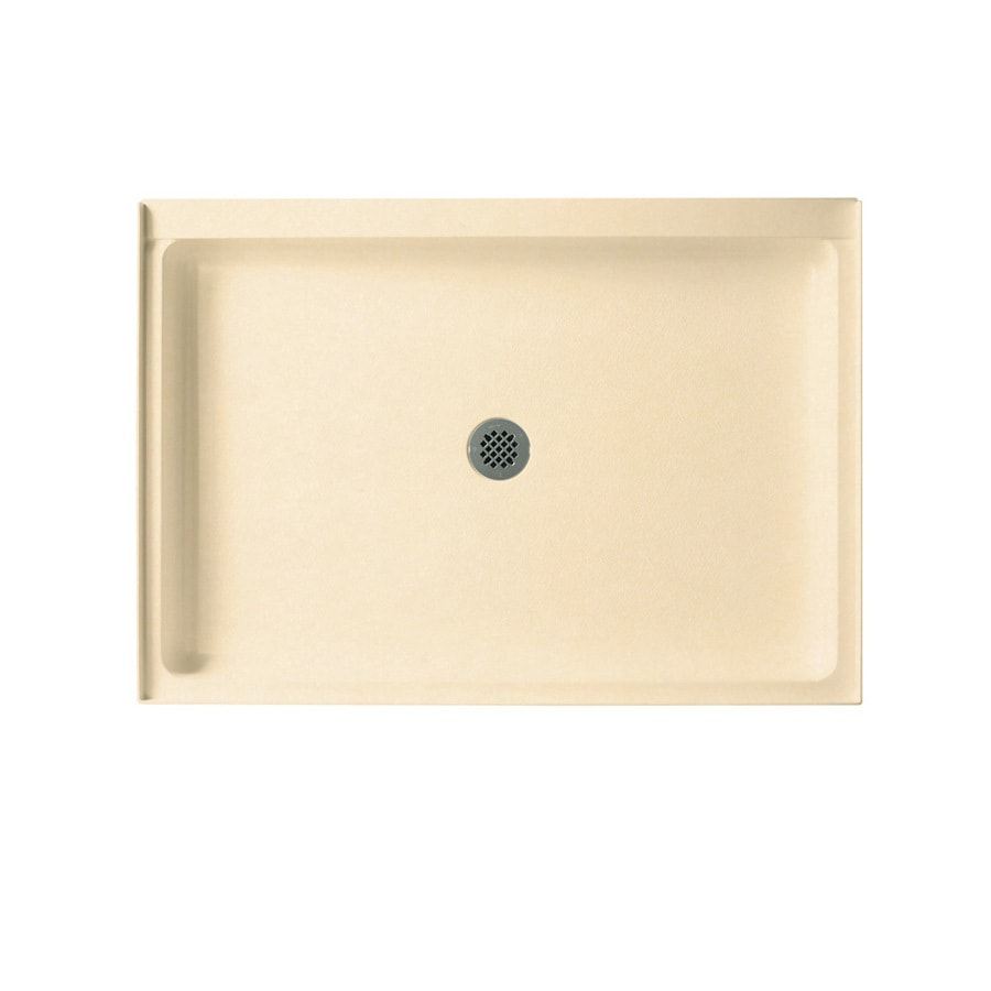 Swanstone Tahiti Terra Solid Surface Shower Base (Common: 34-in W x 48-in L; Actual: 34-in W x 48-in L)