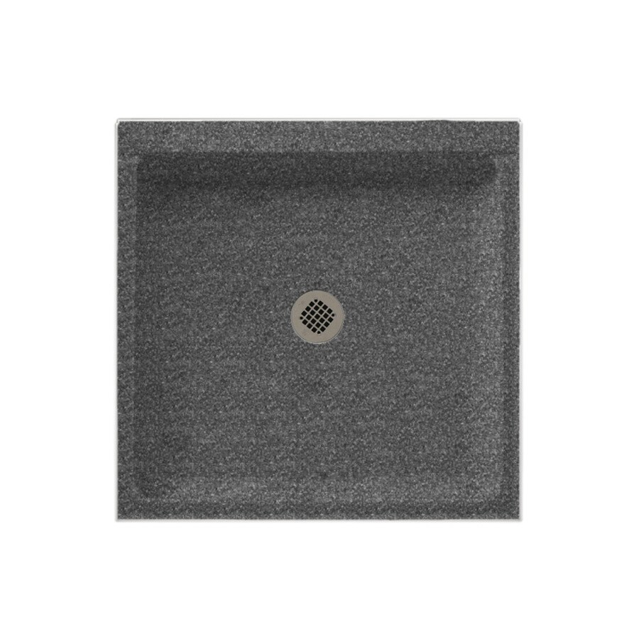 Swanstone Night Sky Solid Surface Shower Base (Common: 36-in W x 36-in L; Actual: 36-in W x 36-in L)