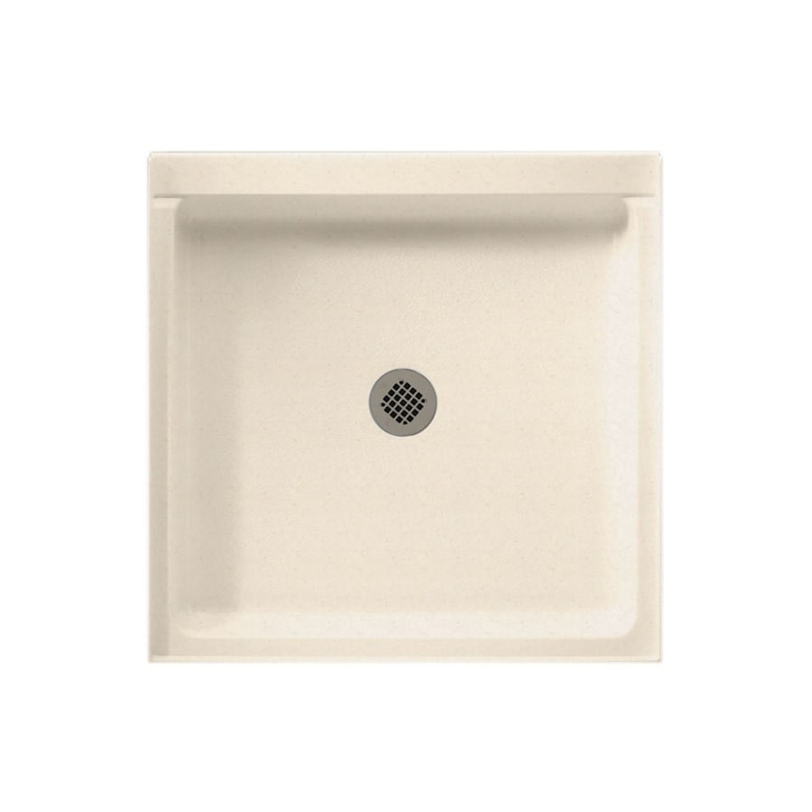 Swan Tahiti Sand Solid Surface Shower Base 36 In W X 42 In