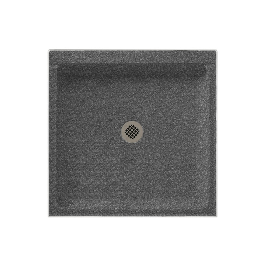 Swanstone Night Sky Solid Surface Shower Base (Common: 42-in W x 36-in L; Actual: 36-in W x 42-in L)