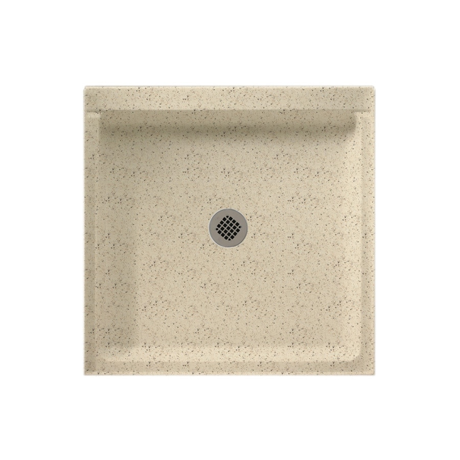 Swanstone Tahiti Desert Solid Surface Shower Base (Common: 42-in W x 36-in L; Actual: 36-in W x 42-in L)
