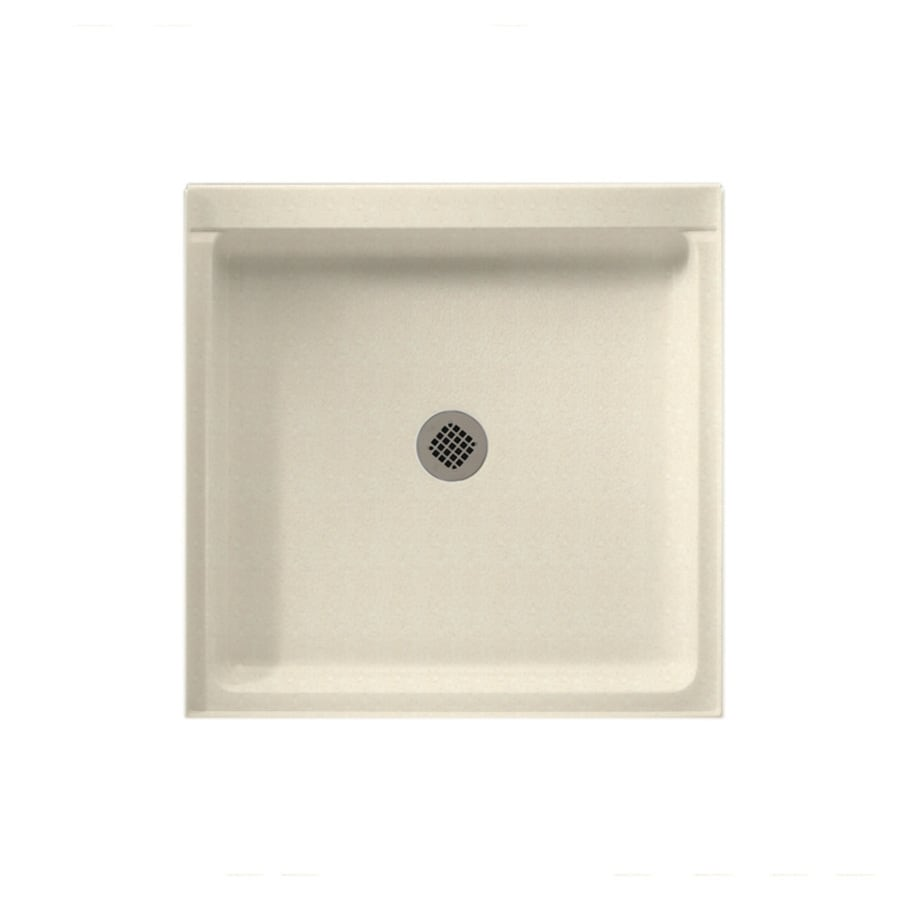 Swanstone Pebble Solid Surface Shower Base (Common: 42-in W x 42-in L; Actual: 42-in W x 42-in L)